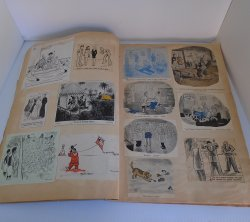 Comic Strip and Jokes Scrapbook, 1940s, Probable Clarinda IA