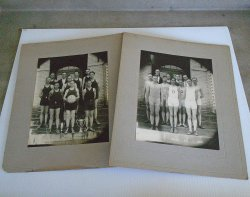 Oxford Boys 1928 Basketball Champs Antique Photos, Kansas