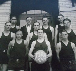 '.Oxford 1928 Basketball Kansas.'