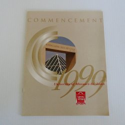 University of Missouri - St. Louis 1999 Commencement Program