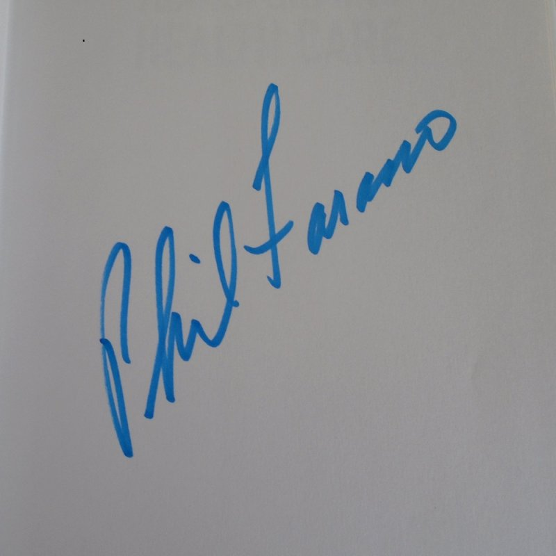 Book, Transforming Health Care. Signed by the author Philip Fasano. About the future of healthcare technologies, electronic tools, and data mining.