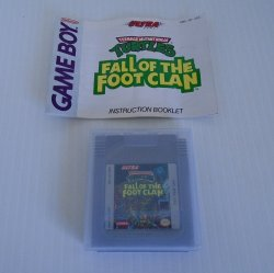 Gameboy Teenage Mutant Ninja Turtles Fall of the Foot Clan