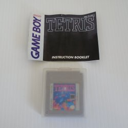 Nintendo Gameboy, Tetris, dated 1989