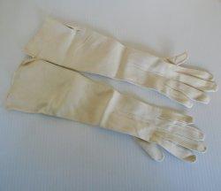 Antique Garanti Chevreau Evening Opera Gloves, Sz 7 Unused