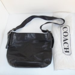 Coach Legacy Bucket Bag, Black, s/n M1S-9186