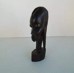 '.Carved African Sculpture 1960.'