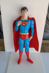Superman Doll, 15 inch, 1988 DC Comics, Rare
