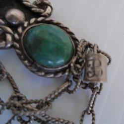 '.1940s Ballesteros 925 necklace.'