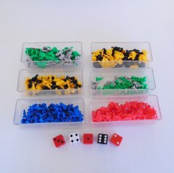 '.RISK board game pieces.'