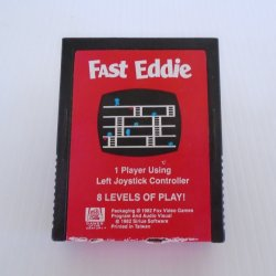 Fast Eddie Atari 2600 Cartridge Game, 20th Century Fox 1982