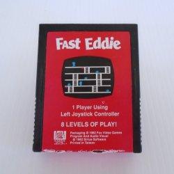 Fast Eddie Atari 2600 Cartridge Game, 20th Century Fox 1982