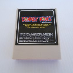 Donkey Kong, by Nintendo for the Atari 2600 System