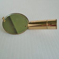'.Lipstick holder w flip mirror.'