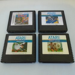 Atari 5200 Game Cartridges, 1970s-1980s, 4 Different Games