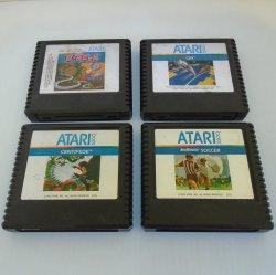 Atari 5200 Game Cartridges, 1970s-1980s, 4 Different Games