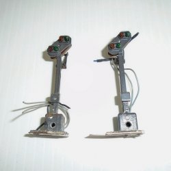 HO Scale Distant Light Signal, Marklin 7187, 2 pcs