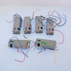Marklin Universal Remote Switch 7045 HO Scale, 6 pcs