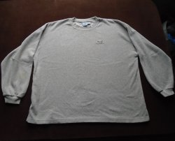 Wells Fargo Bank Tan Fleece Pullover, Size XL