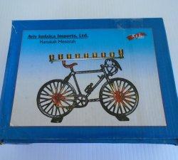 '.Hanukkah Bicycle Menorah.'