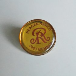 Reagan Ranch 2003 Member Pin, Republican President