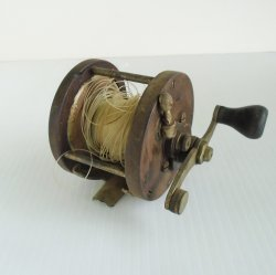 Brigantine 250 yd Salt Water Fishing Reel, circa 1930s