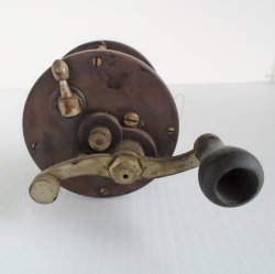 '.1930s Brigantine Fishing Reel.'