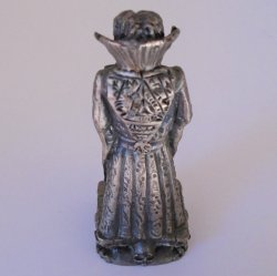 '.Gorham Chess, Black Queen.'