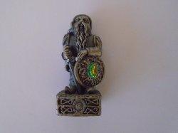 Dwarf of Freedom, Gorham Magic Crystal Chess Piece, Pewter