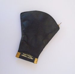 Fills Easy 1930s Leather Tobacco and Pipe Holder Pouch