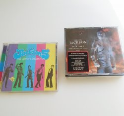 Michael Jackson History and Jackson 5 Collection, CDs
