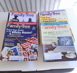 Family Tree Magazines, 44 issues, 2002 thru 2009