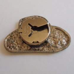 '.NONY Cowboy Hat Button Cover.'