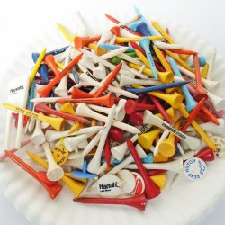 Golf Tees, Markers, Divot. 188 Logos of Casinos Hotels etc