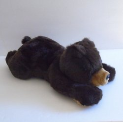 Bank of the West Plush Grizzly Bear, 18 inch