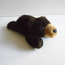 Bank of the West Plush Bear, 7.5 inch, 1990s