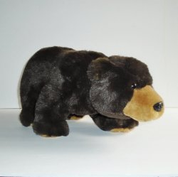 Bank of the West Plush Walking Grizzly Bear, 17 inch