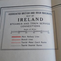 '.British Ireland Railway Map.'