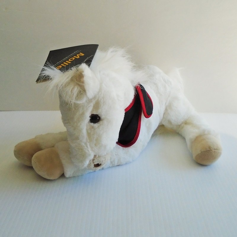 Wells Fargo Bank Legendary Plush Horse Mollie. Fashioned from the actual work horse from Roseburg Oregon c1880. Paper and tush tag included.