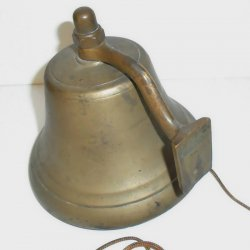 '.Vintage Nautical Bell.'