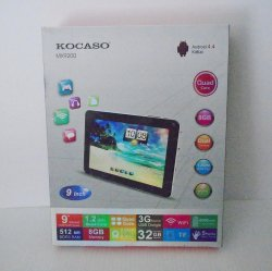 Kocaso 9 Quad Core 8GB Android Tablet MX9200