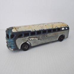 Cast Iron 1930s Greyhound Cruiser Bus, Arcade 4400, 9 inch