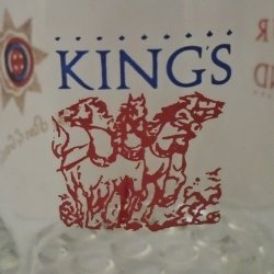 '.King's Four In Hand glasses.'