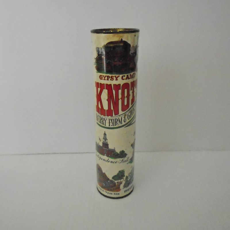 Knott's Berry Farm and Ghost Town Kaleidoscope. Vintage, possibly 1960s. 8.25 by 2 inches. Estate purchase.