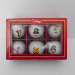 '.Disney Pooh Golf Ball set.'