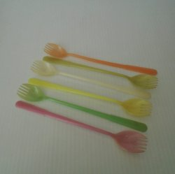 '.Tupperware Sporks Spoon Fork.'