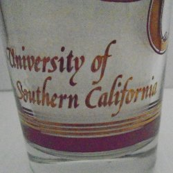 '.USC Trojans 1970s Glass.'