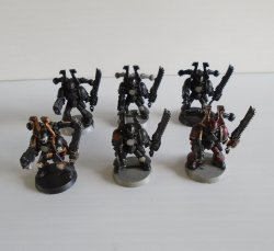 Warhammer Mage Knight Dungeons, 6 Possible Marine Squad pcs