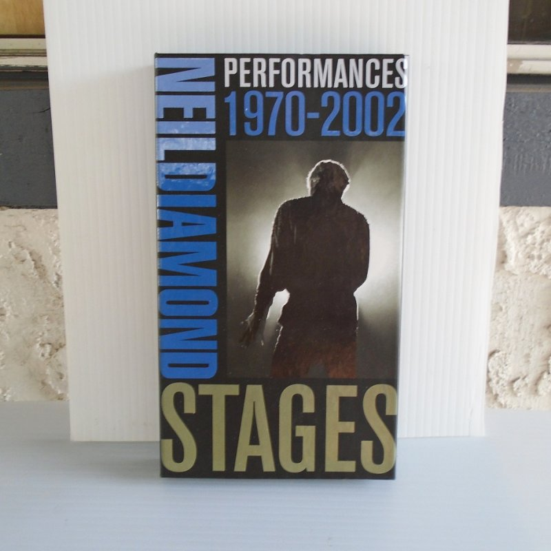 Neil Diamond Stages. 6 CD set covering years of 1970 - 2002. Total of 95 of his greatest recordings.