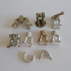 Games Workshop Warhammer, 9 Warrior Lower Body Parts