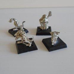 Games Workshop Warhammer, 4 Mini Dragon Fighters